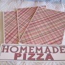 Homemade Pizza - 4pc Mat Set