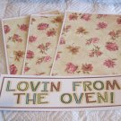 Lovin From The Oven a - 4pc Mat Set