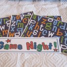 Game Night a - 4pc Mat Set