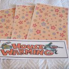 House Warming a - 4pc Mat Set