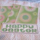 Happy Easter 2 - 4pc Mat Set