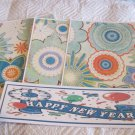 Happy New Year a - 4pc Mat Set