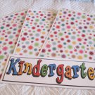 Kindergarten a - 4pc Mat Set