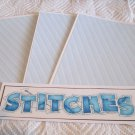 Stitches a - 4pc Mat Set