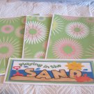 Playing In The Sand a - 4pc Mat Set