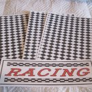Racing a - 4pc Mat Set