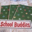 School Buddies a - 4pc Mat Set