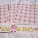Snuggle Bug b - 4pc Mat Set