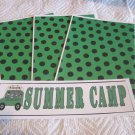 Summer Camp b - 4pc Mat Set