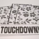 Touchdown - 4pc Mat Set