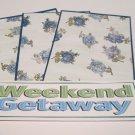 Weekend Getaway - 4pc Mat Set