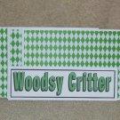 Woodsy Critter - 4pc Mat Set