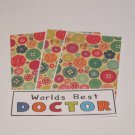 World's Best Doctor - 4pc Mat Set