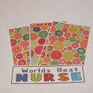 World's Best Nurse - 4pc Mat Set