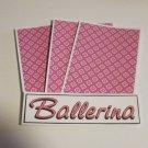 Ballerina b - 4pc Mat Set