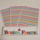 Brain Freeze - 4pc Mat Set