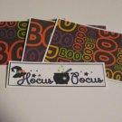 Hocus Pocus - 4pc Mat Set