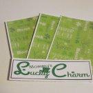 Mommy's Lucky Charm - 4pc Mat Set