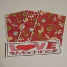 Love Machine - 4pc Mat Set