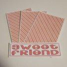 Sweet Friend - 4pc Mat Set