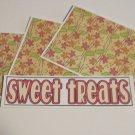 Sweet Treats c - 4pc Mat Set