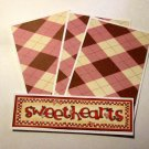 Sweethearts - 4pc Mat Set