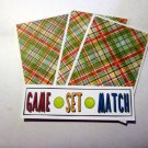 Game Set Match - 4pc Mat Set