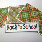 Back To School - 4pc Mat Set