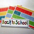 Back To School a1 - 4pc Mat Set