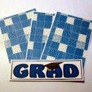 Grad Blue - 4pc Mat Set