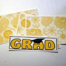 Grad Yellow - 4pc Mat Set