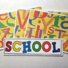School a1 - 4pc Mat Set