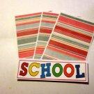 School a2 - 4pc Mat Set