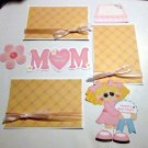 Mom Girl a3 - Printed Piece/Title & Mats set