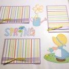 Spring a3 - Printed Piece/Title & Mats set
