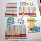 School Boy a3 - Printed Piece/Title & Mats set