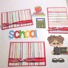 School Girl 3 a3 - Printed Piece/Title & Mats set