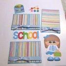 School Girl a3 - Printed Piece/Title & Mats set