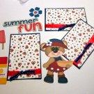 Summer Fun Hotdog a3 - Printed Piece/Title & Mats set