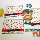 Summer Fun Watermelon a3 - Printed Piece/Title & Mats set