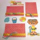 Sweet Taste of Summer Girl a3 - Printed Piece/Title & Mats set