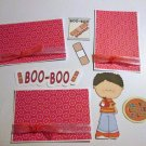 Boo Boo Boy a3 - Printed Piece/Title & Mats set