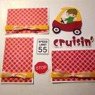 Cruisin Boy a3 - Printed Piece/Title & Mats set