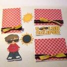 Solar Eclipse Boy a3 - Printed Piece/Title & Mats set