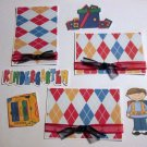 Kindergarten Boy a3 - Printed Piece/Title & Mats set