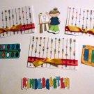 Kindergarten Girl a3 - Printed Piece/Title & Mats set