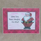 """Have You Been Naughty or Nice - 5x7"""" Greeting Card with envelope"""