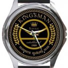 Kingsman Manners Maketh Man Round Metal Watch