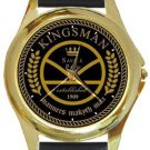 Kingsman Manners Maketh Man Gold Metal Watch