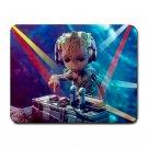 DJ Baby Groot Heat-Resistant Mousepad